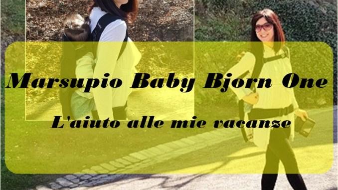 marsupio Baby Bjorn One