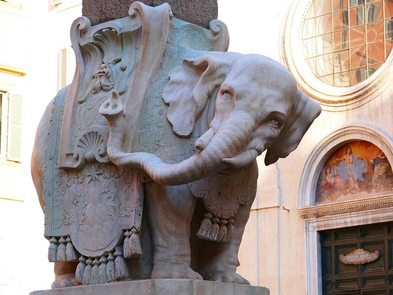 itinerario a roma bernini