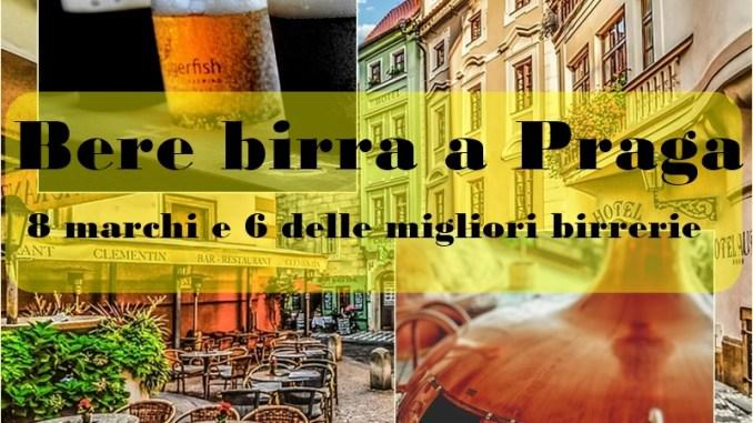 bere birra a Praga