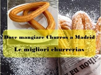 Dove mangiare Churros a Madrid