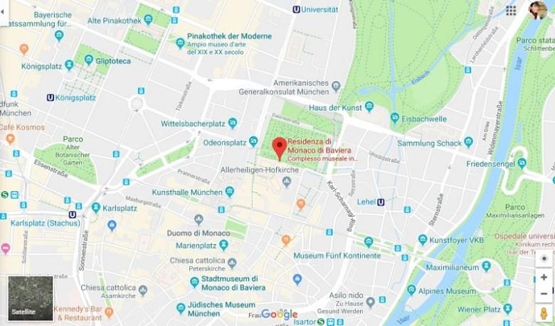 Cosa vedere a Monaco di Baviera: Residenz