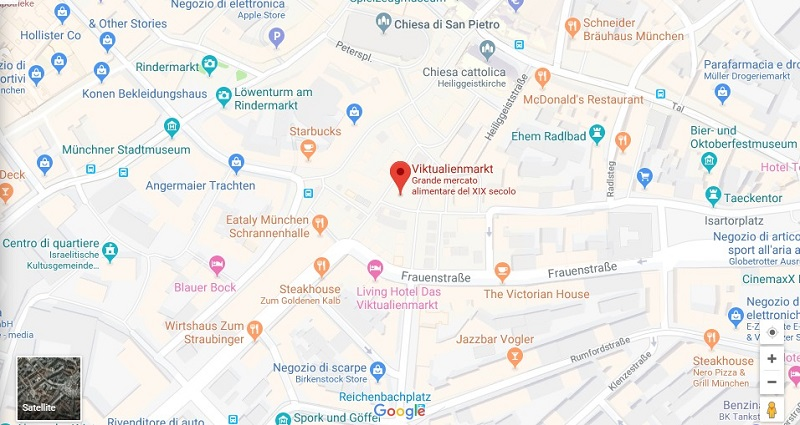 Cosa vedere a Monaco di Baviera: Viktualienmarkt