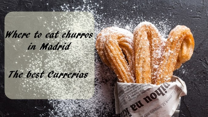 where to eat churros in Madrid