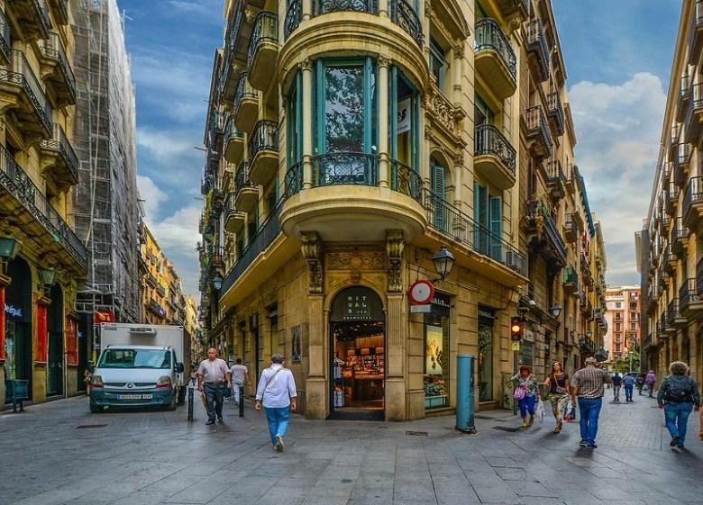 il barrio gotico di Barcellona, angoli senza tempo