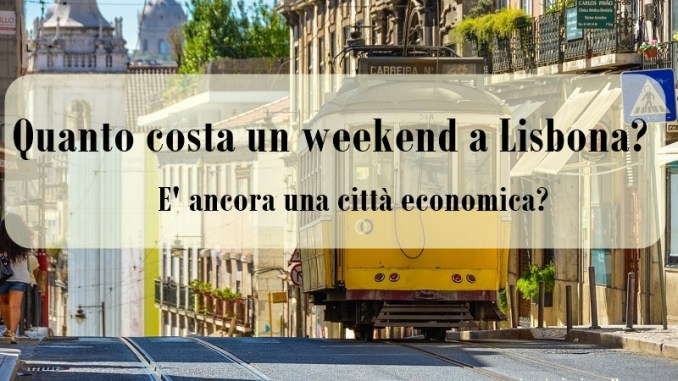 Quanto costa un weekend a lisbona page