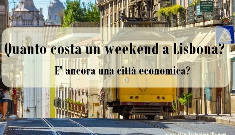 Quanto costa un weekend a lisbona page