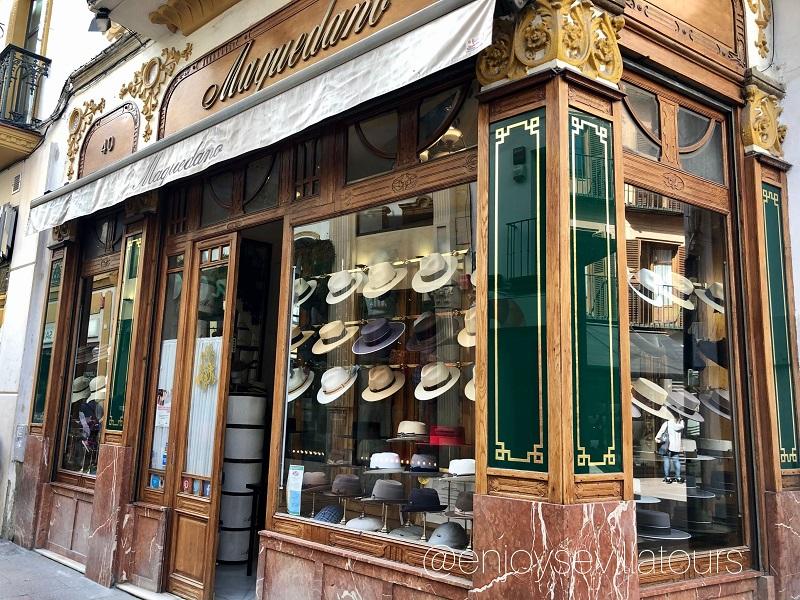 Shopping a siviglia - NEGOZIO DI SOMBREROS