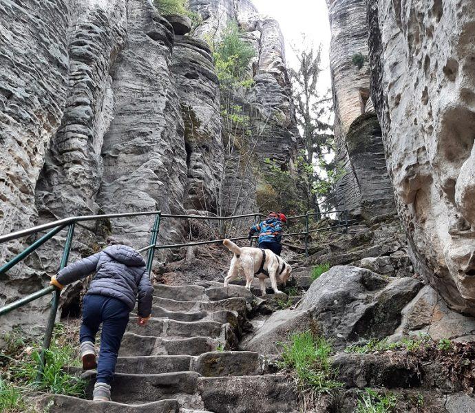 Trekking a Cesky Raj