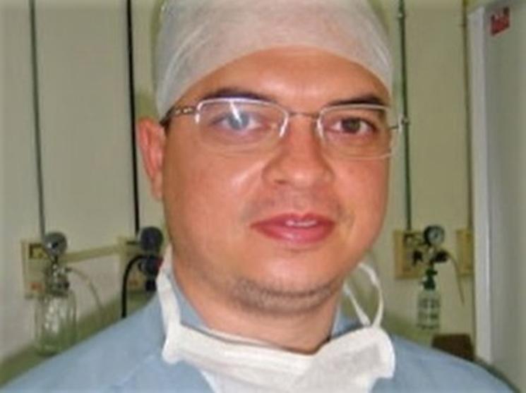 Médico anestesista, Fábio de Sousa Carvalho
