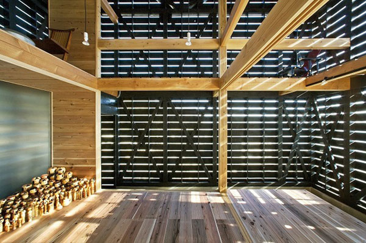 Japanese Workshop Homes Design With Barn House Style