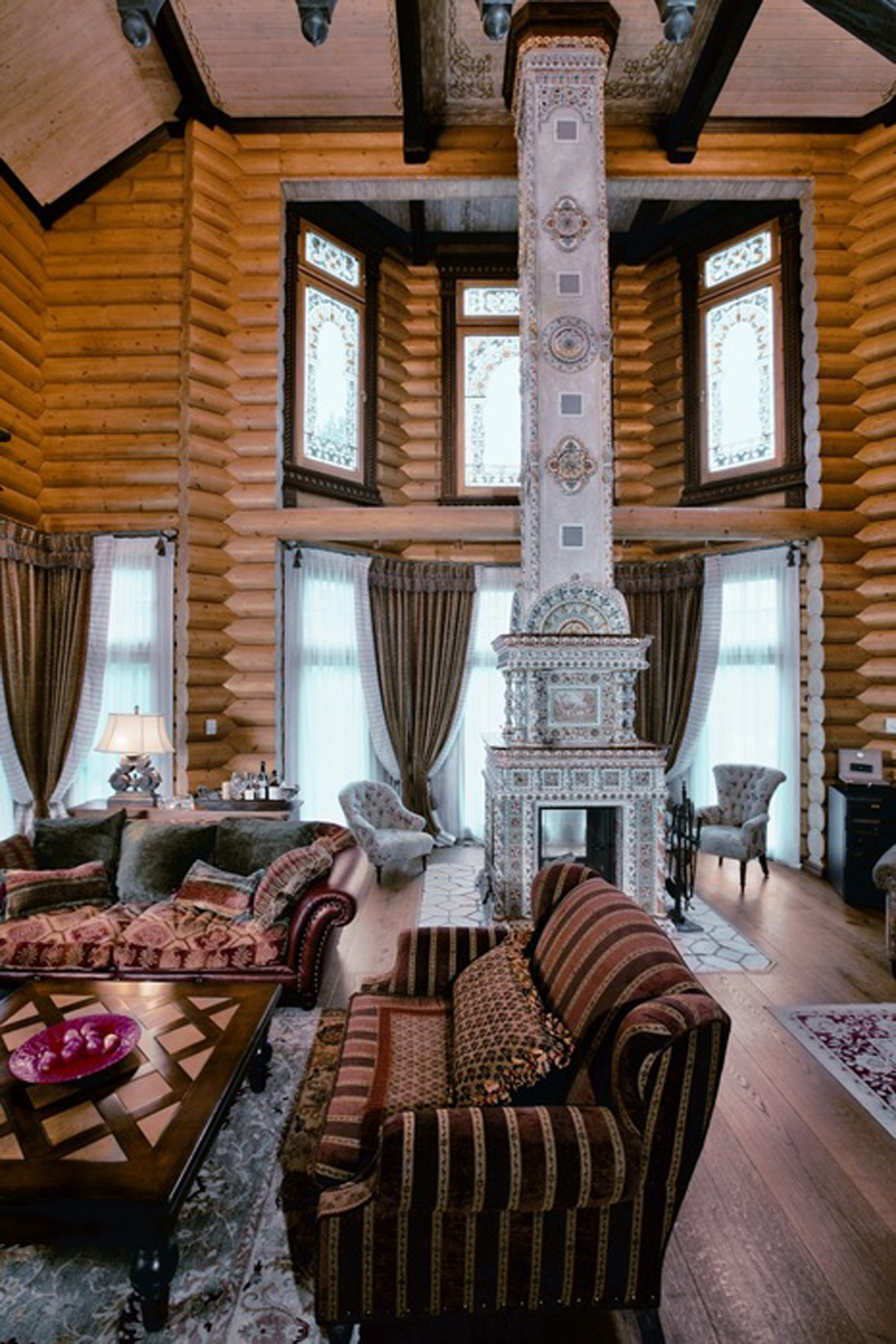 Huge Russian Siberian House Design Fairy Tales Dream
