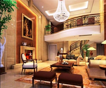 Elegan Interior Design With European Style