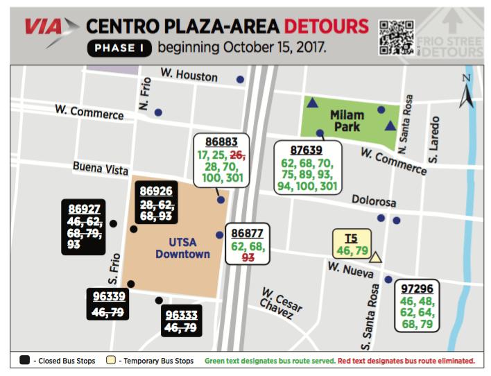 Utsa Downtown Campus Map