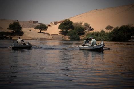 egipto nilo faluca