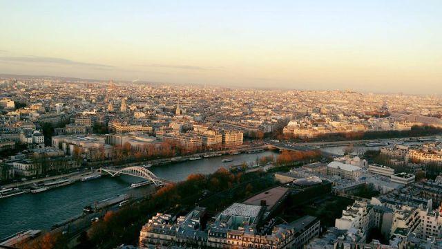 El hermoso París.