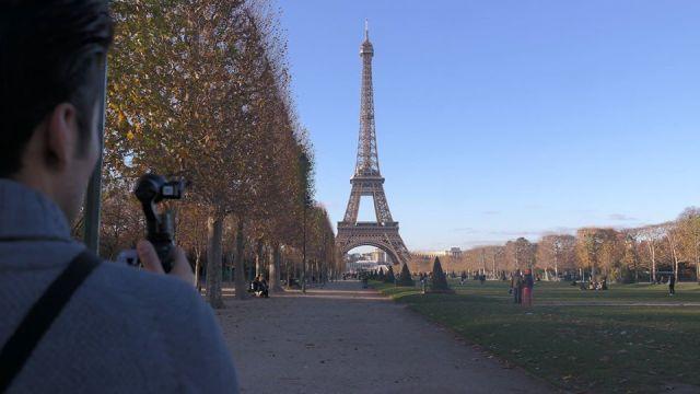 Torre Eiffel desde Campo Marte.