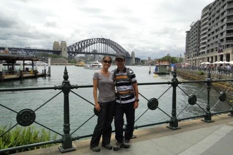 El puente sobre el puerto
