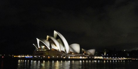 La ópera de noche