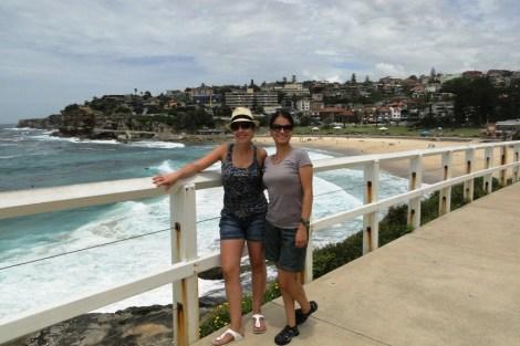 Caminata de las playas con Carolina