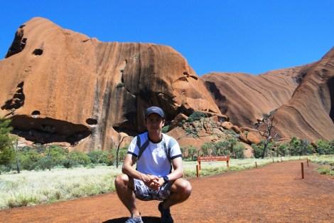 Uluru de cerca