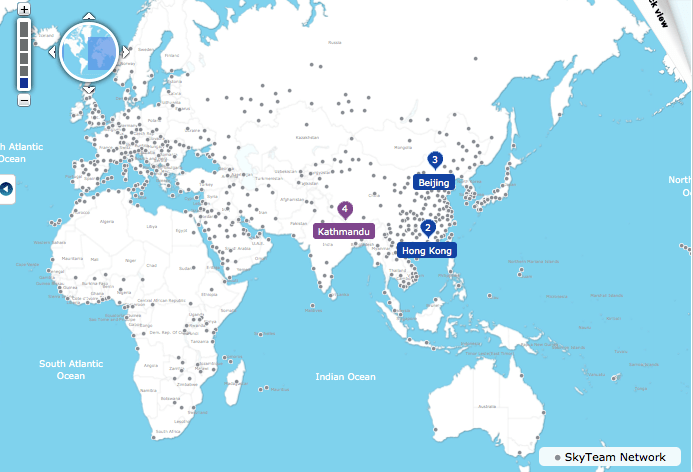 http://www.skyteam.com/your-trip/Round-the-World-Planner/