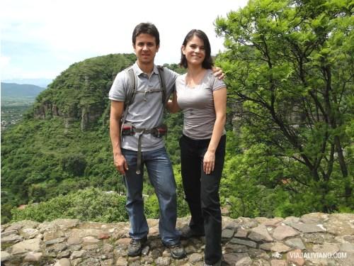 Nosotros desde El Cerro de los Ídolos