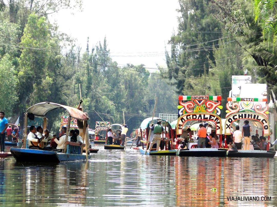 Xochimilco Mexico DF
