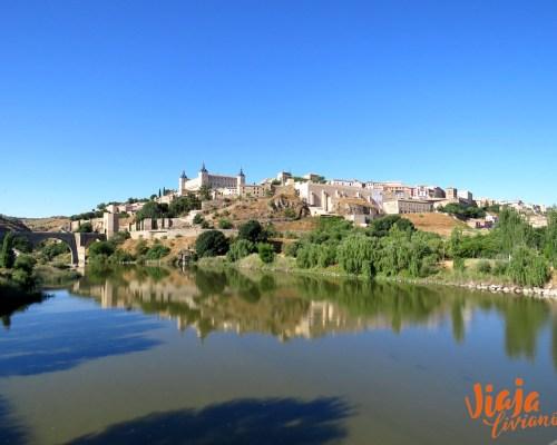 Toledo desde el puente de Azarquiel