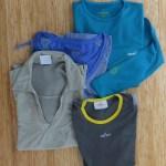 Camisetas de secado rápido y transpirables