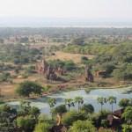 La vista desde la torre Nan Myint