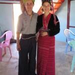 Los trajes típicos de la tribu Palaung