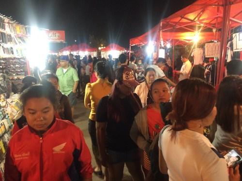 Mercado Nocturno en Vientián