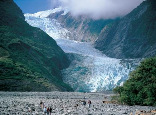 Glaciar Franz Josef. Fotografía: Gareth Eyres