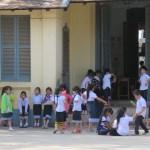 Escuela elemental de Laos