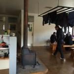 La zona de cocina y comedor