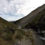 El descenso, este río lo cruzamos muuuuchas veces