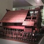 Maquetas de las construcciones tradicionales en el Museo Nacional