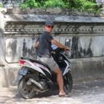 Lejos del tráfico de Ubud, en Nusa Lembongan es muy tranquilo