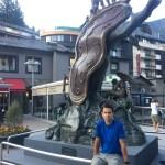 La nobleza de los tiempos de Dalí en Andorra La Vieja