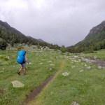 Llegando al Refugio del Río del Orris