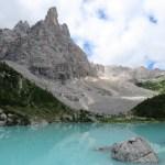 El hermoso Lago di Sorapis