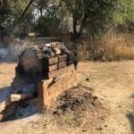 Los calentadores de agua del campamento