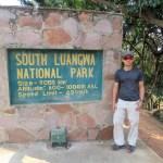 La puerta oficial del parque
