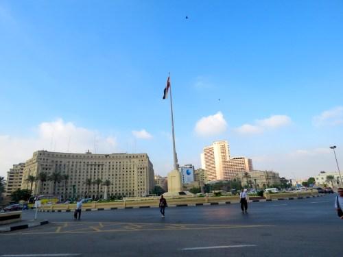 Plaza Tahrir o Plaza de la Liberación