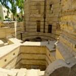 Ruinas romanas en el barrio Copto