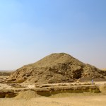 Aunque por fuera es difícil apreciar la pirámide, por dentro la elaboración de la tumba es increíble