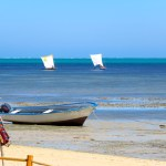 Las embarcaciones de los pescadores