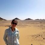 El desierto negro en Egipto