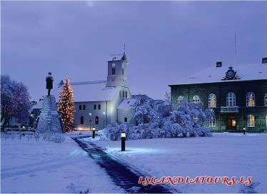 Islandia, Iceland, Navidad, celebrar, Akureyri