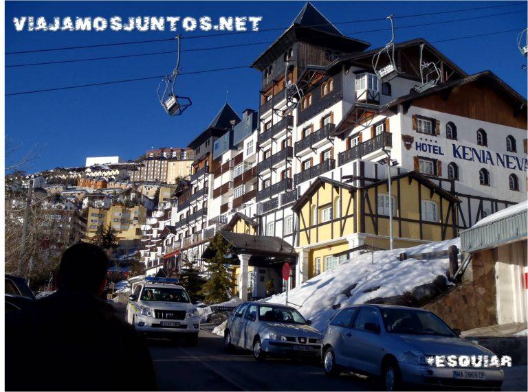 Sierra Nevada, Granada, Pradollano, esquiar, esquí, invierno, ocio, barato, low cost
